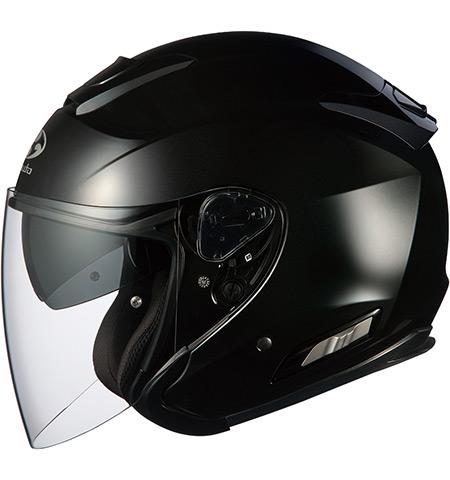 OGK KABUTO ASAGI アサギ ブラックメタリック ヘルメット ジェット サイズ:XXLサイズ