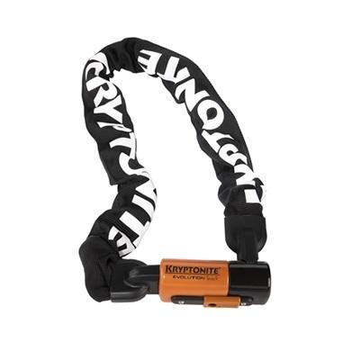 クリプトナイト 000815 エボリューション4 インテグレイテッドチェーン チェーンロック ケーブルロック 10.0mm×1600mm ロック 鍵 防犯 盗難防止