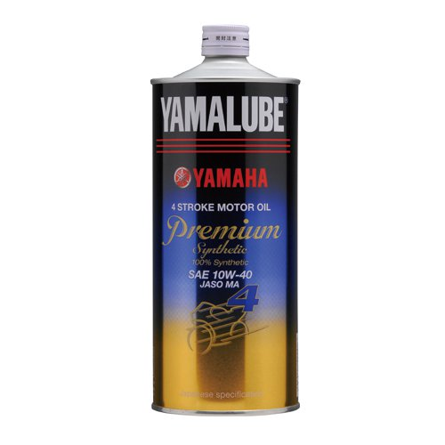 Genuine Yamaha YAMAHA 90793-32152 Jamal be engine oil 4-cycle for premium  synthetic 10W-40 1? Jamal b premium synthetic