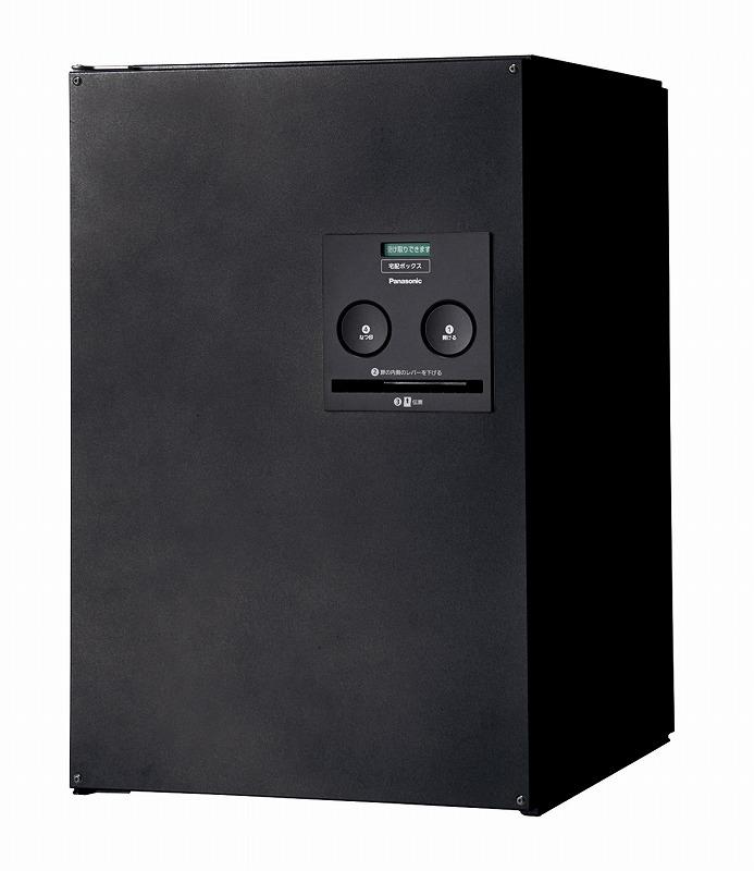 パナソニック CTNR4021RTB 宅配ボックス COMBO コンボ ミドル 右開 後出し 390×460.5×590mm 鋳鉄ブラック色