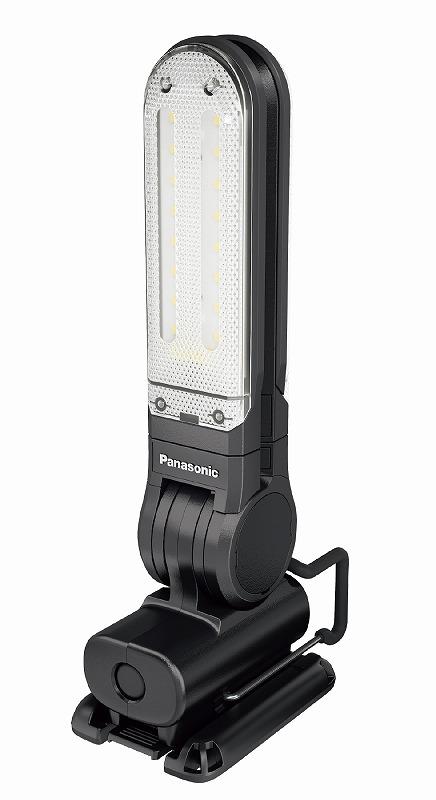 パナソニック EZ3720T-B 工事用充電LEDマルチライト 7.2V マグネットベース付 125×257×49mm 黒 ブラック コードレス