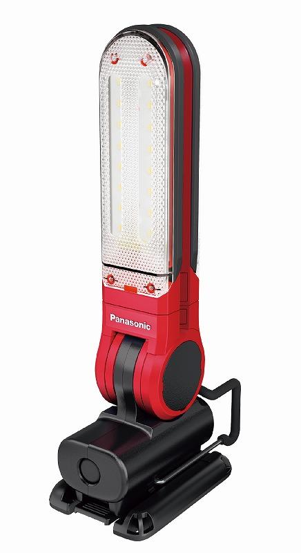パナソニック EZ3720T-R 工事用充電LEDマルチライト 7.2V マグネットベース付 125×257×49mm 赤 レッド コードレス