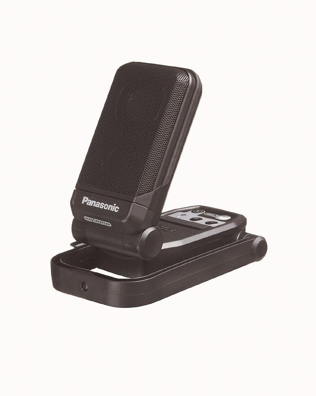 パナソニック EZ37C5-B 工事用充電ワイヤレススピーカー 本体のみ 162×70×99mm 黒 ブラック