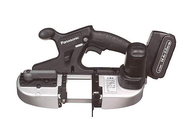 【史上最も激安】 パナソニック 14.4V5.0Ah充電バンドソー:バイクマン 店 EZ45A5LJ2F-B-DIY・工具