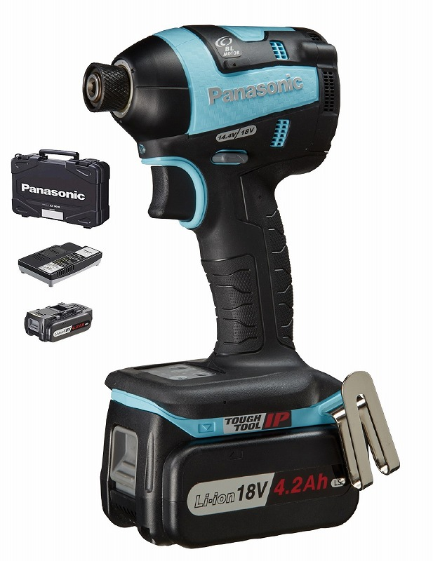 パナソニック EZ75A7LS2G-A 充電インパクトドライバー 18V 118×242×66mm 青 ブルー 1.65kg
