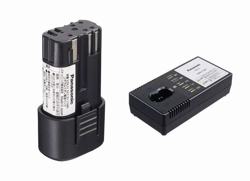 パナソニック EZ9L21ST リチウムイオン電池パック 7.2V 1.5Ah LJタイプ 急速充電器セット