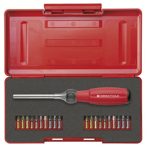 PB スイスツールズ 8510R-100SET 8510R-100SET ツイスター ラチェットドライバーセット 質量(g):676