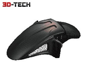 POSH Faith ポッシュフェイス 061106-BG 3D-TECH フロントフェンダー FRP製ブラックゲルコート XJR1300