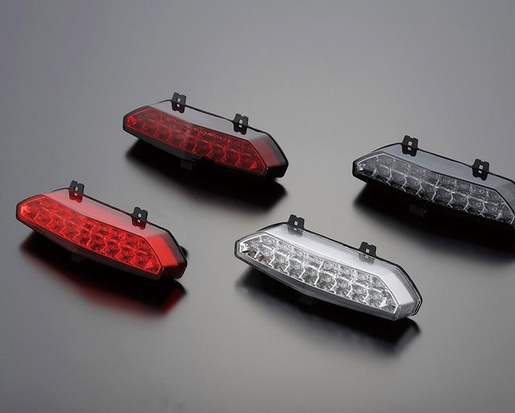 POSH Faith ポッシュフェイス 072090-91 LEDテールランプユニット 純正交換タイプ カスタムタイプ クリアーレンズ ZRX1200DAEG ZRX1200ダエグ