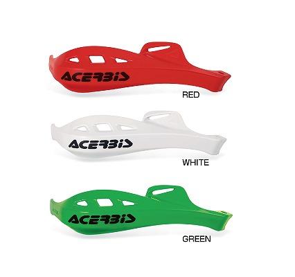 ACERBIS アチェルビス AC-13057WH ラリープロファイル ハンドガード ホワイト ユニバーサルマウント