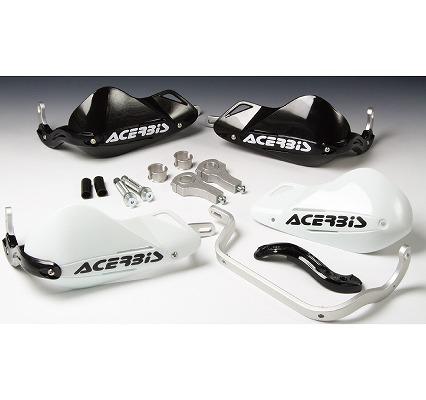 ACERBIS アチェルビス AC-13063BK スーパーモトハンドガード ブラック マウントキット付き