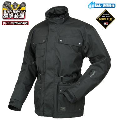 ラフ&ロード R&R RR7001BK2 ゴアテックス トレックジャケット Mサイズ ブラック ジャケット