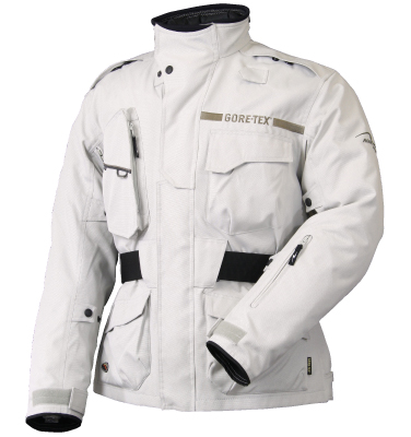 ラフ&ロード R&R RR7105SV2 ゴアテックス SSFツーリングジャケットFP Mサイズ プラチナシルバー ジャケット