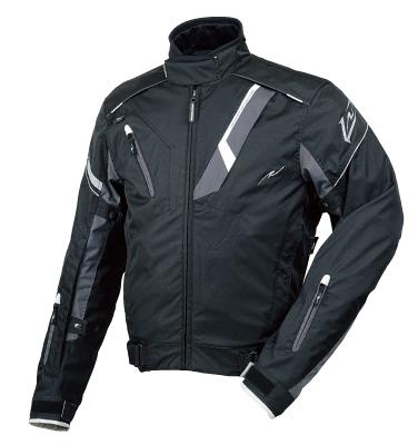 ラフ&ロード R&R RR7213BK/RD2 ウォーターシールドオールウェザージャケット Mサイズ ブラック/レッド ジャケット
