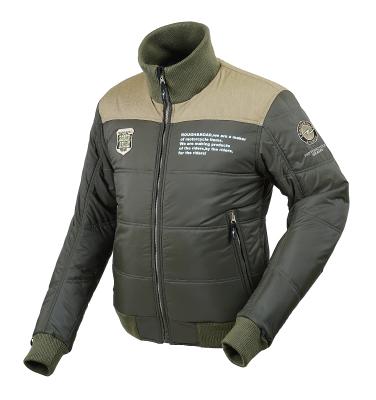ラフ&ロード R&R RR7953OV3 デュアルウォームジャケット Lサイズ オリーブ ジャケット