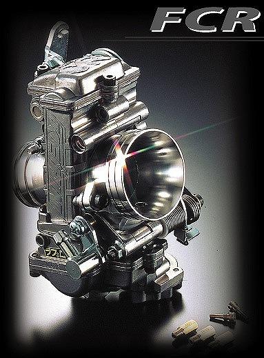 FCR FCR4101 キャブレター41mm ホリゾンタルシングル 汎用 ラフ&ロード