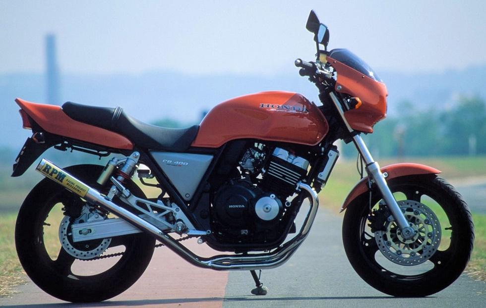 RPM CB400SF マフラー 4in2in1 CB400SF (92-99) STD RPM 2038S