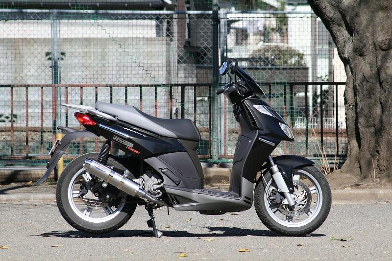 RPM SPORTCITY250IE マフラー 80D-RAPTOR TI チタン SPORTCITY250IE RPM 6034Y