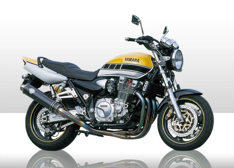 アールズギア rs gear WY01-STCF ワイバン 4-1Sタイプマフラー カーボンサイレンサー XJR1200/XJR1300 マフラー
