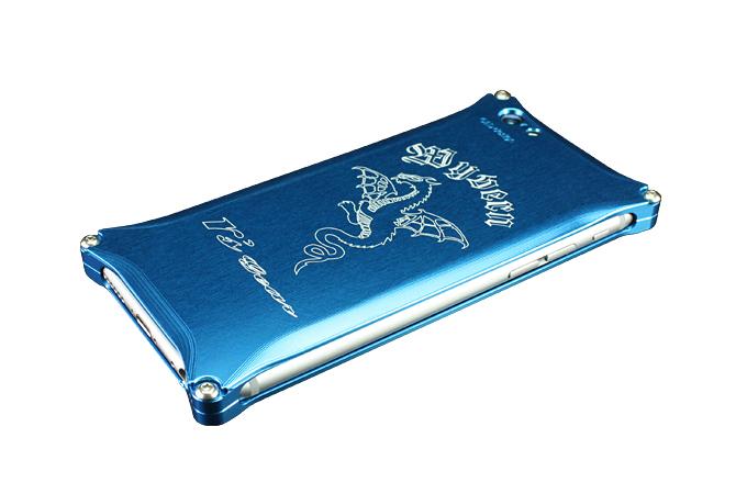 アールズギア rs gear XXSP-0001-BU ワイバン スマートフォンケース スマホケース iPhone6 アイフォン6/Phone6s アイフォン6s対応 ブルー