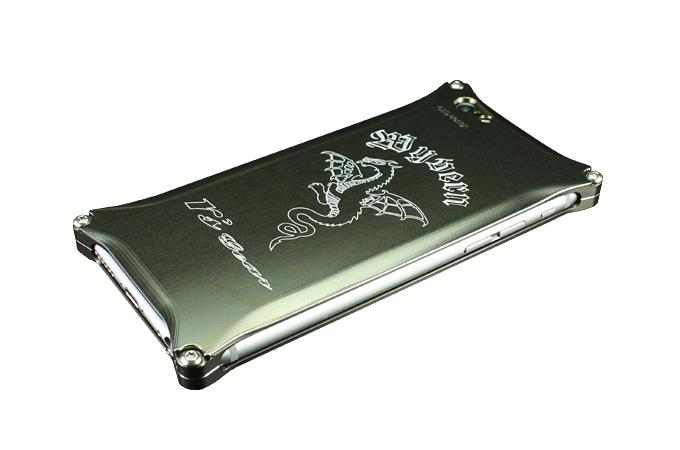 アールズギア rs gear XXSP-0001-PB ワイバン スマートフォンケース スマホケース iPhone6 アイフォン6/Phone6s アイフォン6s対応 プラチナブラック