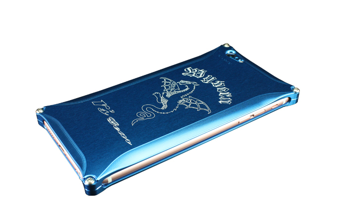 アールズギア rs gear XXSP-0002-BU ワイバン スマートフォンケース スマホケース iPhone6 Plus アイフォン6プラス/iPhone6s Plus アイフォン6sプラス対応 ブルー