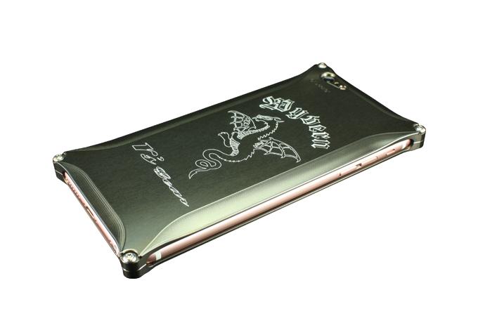 アールズギア rs gear XXSP-0002-PB ワイバン スマートフォンケース スマホケース iPhone6 Plus アイフォン6プラス/iPhone6s Plus アイフォン6sプラス対応 プラチナブラック