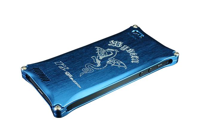 アールズギア rs gear XXSP-0003-BU ワイバン スマートフォンケース スマホケース iPhone5 アイフォン5/iPhone5s アイフォン5s/iPhone SE アイフォンSE対応 ブルー
