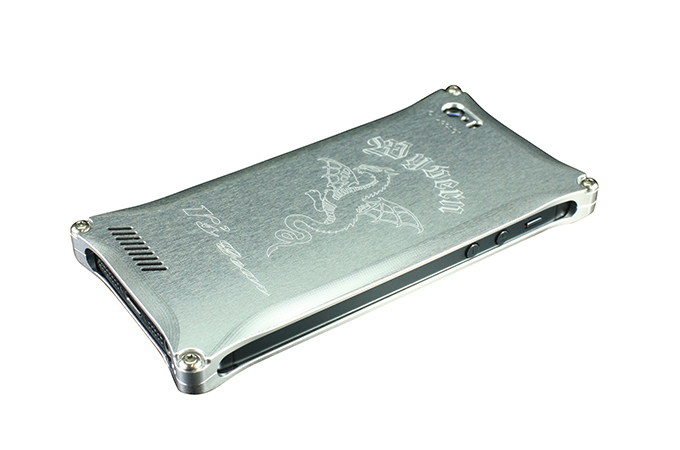 アールズギア rs gear XXSP-0003-SV ワイバン スマートフォンケース スマホケース iPhone5 アイフォン5/iPhone5s アイフォン5s/iPhone SE アイフォンSE対応 シルバー