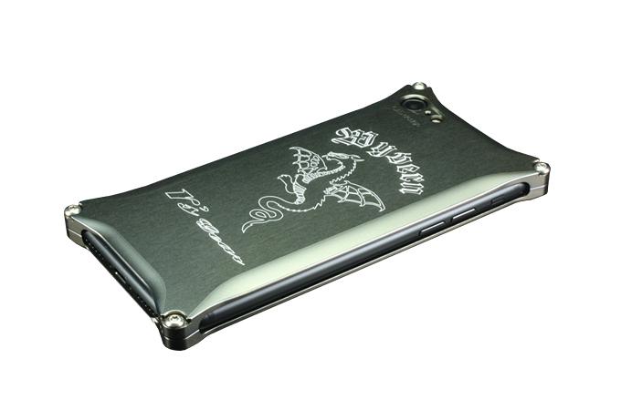 アールズギア rs gear XXSP-0004-PB ワイバン スマートフォンケース スマホケース iPhone7 アイフォン7対応 プラチナブラック