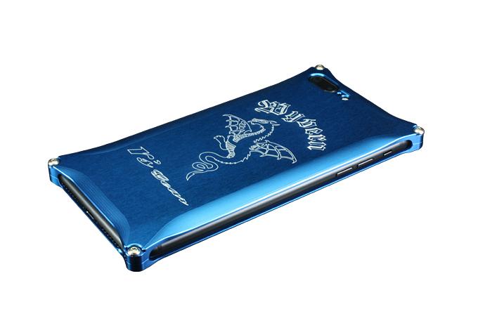 アールズギア rs gear XXSP-0005-BU ワイバン スマートフォンケース スマホケース iPhone7 Plus アイフォン7プラス対応 ブルー