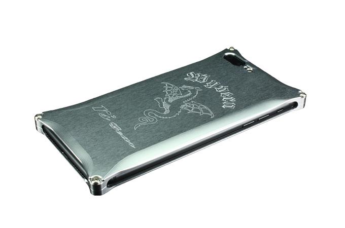 アールズギア rs gear XXSP-0005-SV ワイバン スマートフォンケース スマホケース iPhone7 Plus アイフォン7プラス対応 シルバー