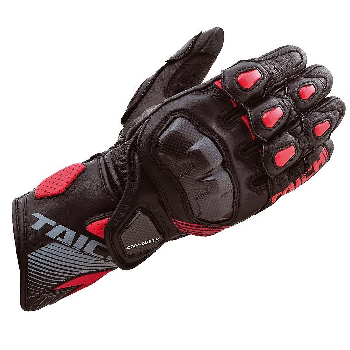 RSタイチ NXT052 GP-WRX レーシンググローブ ブラック/レッド XXLサイズ