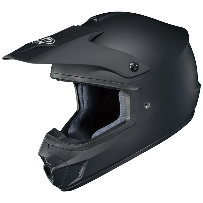 RSタイチ HJH102 HJC CS-MX2 ソリッド オフロードヘルメット ラバートーンブラック Mサイズ 57-58cm ヘルメット