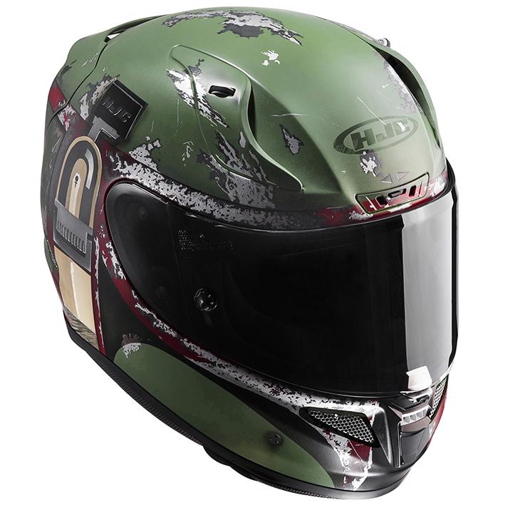RSタイチ HJH119 HJC スターウォーズ RPHA 11 ボバ フェット フルフェイスヘルメット XLサイズ 61-62cm ヘルメット