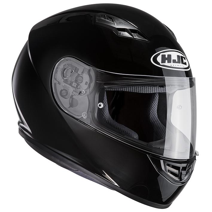 RSタイチ HJH113 HJC CS-15 ソリッド フルフェイスヘルメット ブラック Mサイズ 57-58cm ヘルメット