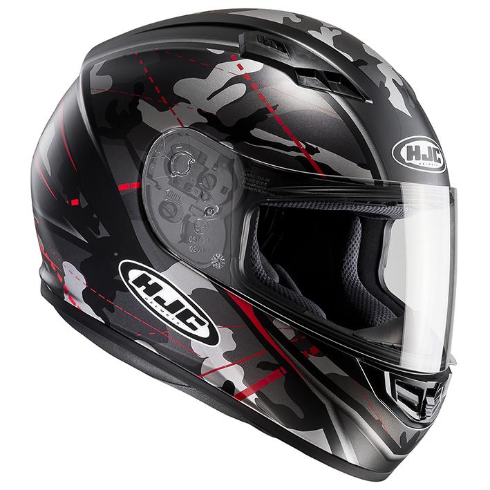 RSタイチ HJH114 HJC CS-15 ソンタン フルフェイスヘルメット レッド Lサイズ 59-60cm ヘルメット