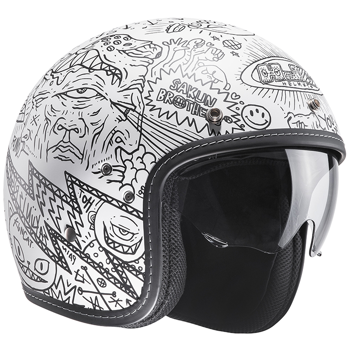 RSタイチ HJH128 HJC FG-70S マチュ オープンフェイスヘルメット Mサイズ 57-58cm ヘルメット