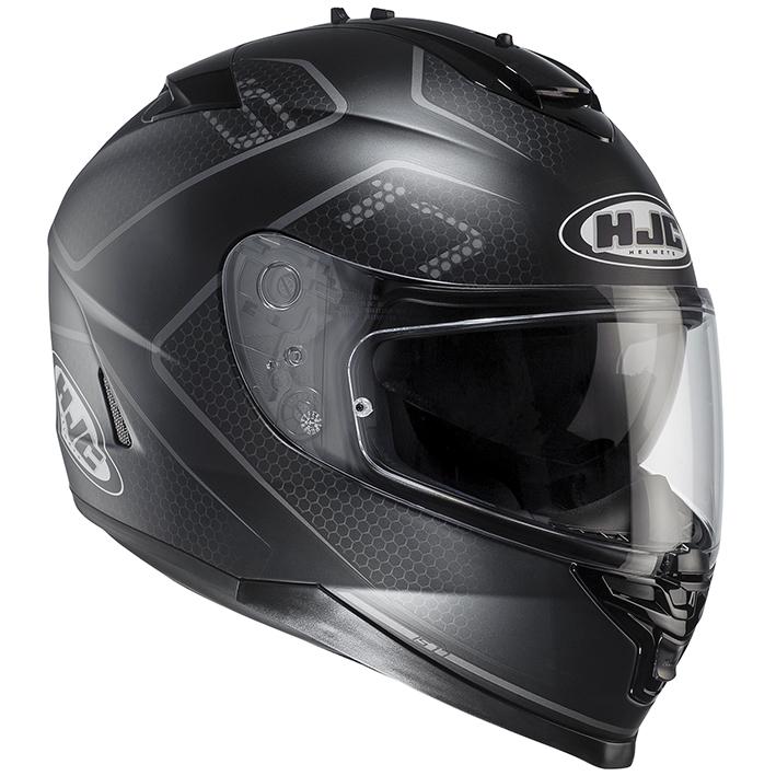 RSタイチ HJH132 HJC IS-17 ランク フルフェイスヘルメット ブラック XLサイズ 61-62cm ヘルメット