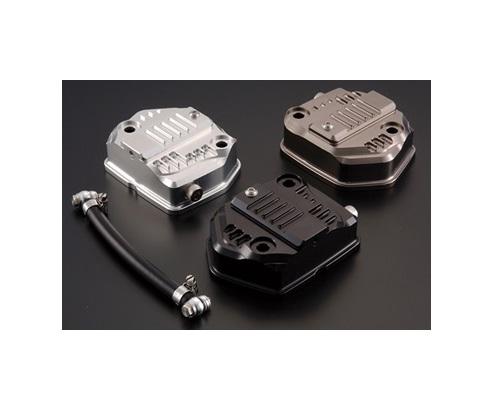 シフトアップ 201001-11 オイルシャワービレットヘッドカバー チタン エイプ50-100/XR50-100/NSF100 シフトアップ 201001-11
