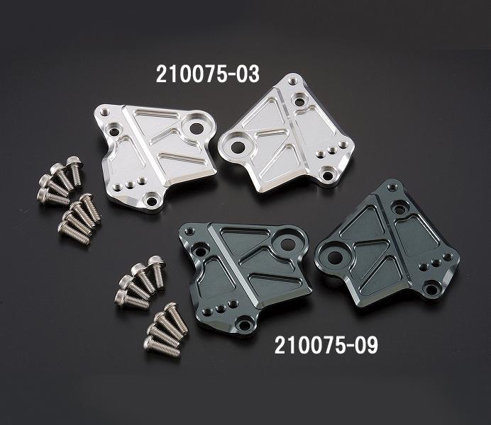 シフトアップ 210075-09 ガセットステップアッププレート ガンメタ NSF100 シフトアップ 210075-09