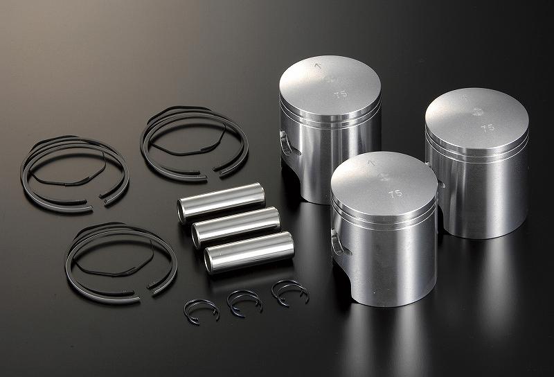 シフトアップ 800750-75 オーバーサイズピストンキット (0.75mm) MACH マッハ750(H2) シフトアップ 800750-75