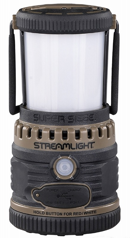 STREAMLIGHT ストリームライト 44947 スーパーランタン 1100ルーメン コヨーテ ランプ ライト アウトドア 防水IPX7 防災