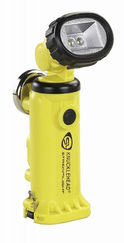 STREAMLIGHT ストリームライト 90621 ナックルヘッド 充電式本体のみ イエロー 懐中電灯 ライト 防災