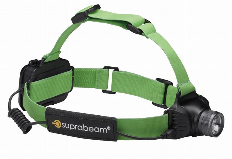 SUPRABEAM スプラビーム 610.1043 V3AIR 軽量LEDヘッドライト V3エア 5~250ルーメン ダークグレー ヘッドランプ 防災