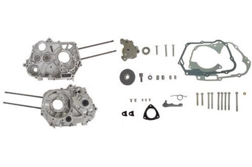 SP武川 タケガワ 01-00-0051 クランクケースセット 4SMシリンダースタッド位置 コンプリートエンジン専用 123cc専用