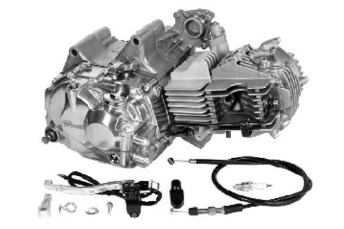 SP武川 タケガワ 01-00-7748 エンジンコンプリートキット スーパーヘッド+R 138cc 5速クロスミッション カムシャフト20D ワイヤー式クラッチカバー KSR110