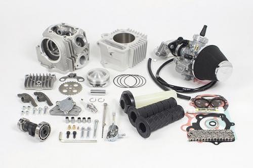 SP武川 タケガワ 01-05-0516 17R-Stage+D コンボキット 106cc 12V-モンキー (スカットシリンダー/R-10E/VM26)