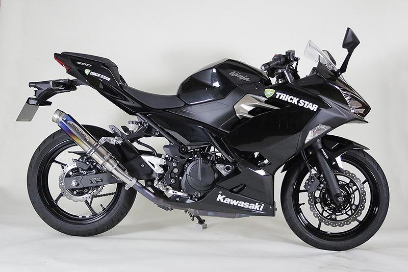トリックスター レーシングスリップオンマフラー ショットガン カーボンGP-LOOK Ninja400'18~ ニンジャ400'18~ RSS-020B-SCGP マフラー