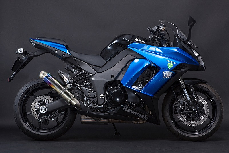 トリックスター デュアルレーシングスリップオン ショットガンサイレンサー 焼チタン GP-LOOK Ninja1000'11~ ニンジャ1000'11~ RST-018-SYTEGP マフラー